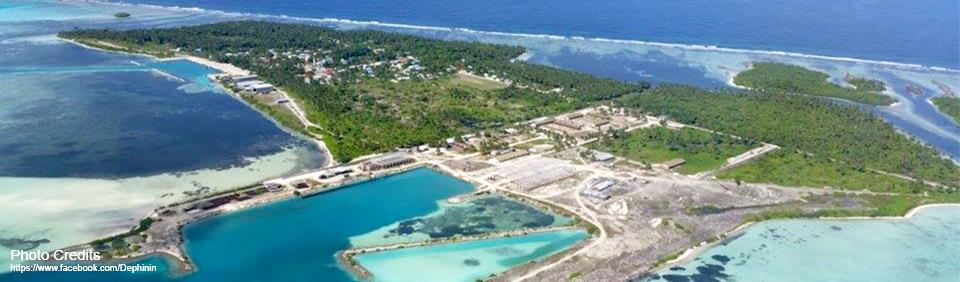 Aerial view of Hoandedhoo